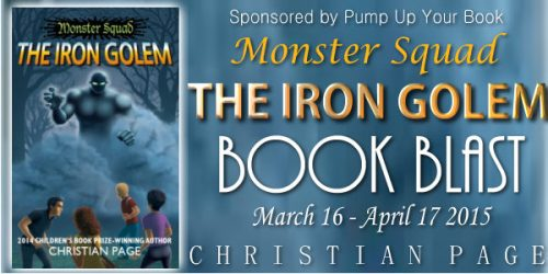 Monster Squad The Iron Golem Book Banner